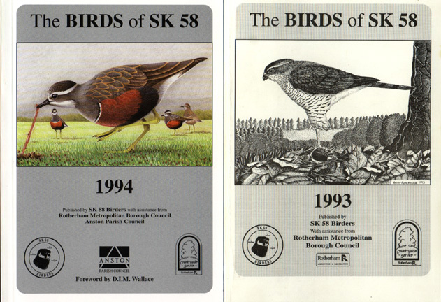 Award-winning Birds of SK58 1993, 94