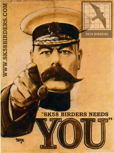 SK58 Birders Needs You!